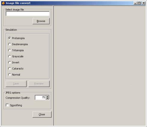 Select window(List) 활용한 색에 무관한 인식 검사 방법 화면3