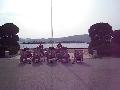 2010년 병영체험 군악대 환영 연주
