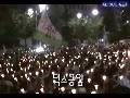 최대 촛불 인원 50만명 끝이 안보였다.