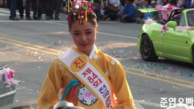 2014년 미스춘향 진 임하늘 직캠