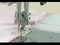 투명노루발 응용 - 조개무늬(Shell tuck)