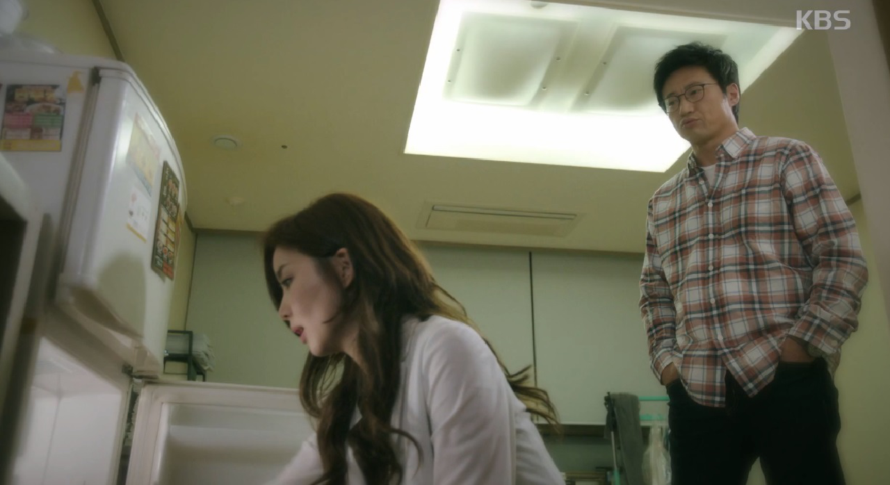 박신양, 박솔미에 '나 좋아해?'