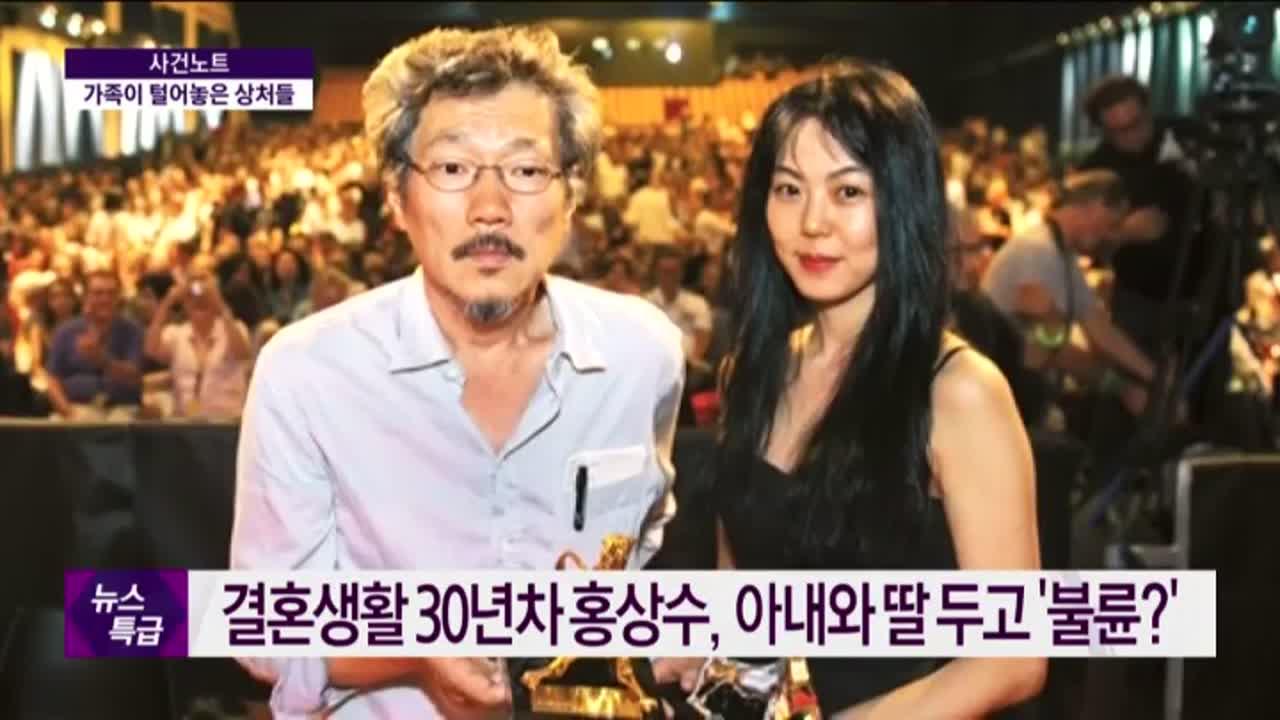 홍상수-김민희 불륜설