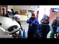 파우더 스키의 미드솔 포지션과 부력의 변화에 대한 이해.