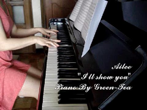 ♡ 에일리 - 보여줄게 그린티 피아노 연주 ♡