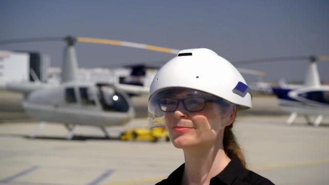 DAQRI 스마트 헬멧