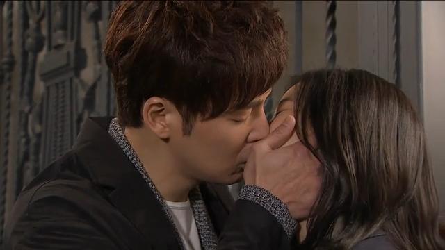 애절한 마지막 키스
