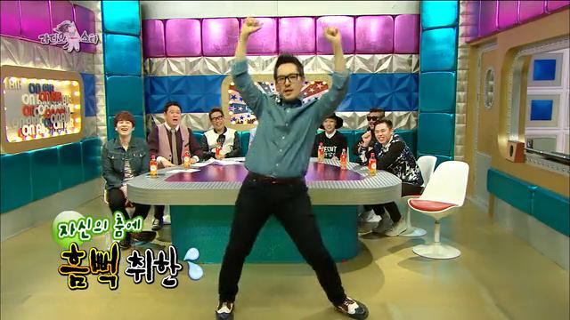 김풍 반전 노래, 댄스 실력