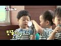 물 두방울이라도 나눠 먹는 우애 좋은 민국&만세 [슈퍼맨이 돌아왔다] 20140921 KBS