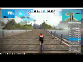 2018-02-02(금) gamin  data+ Zwift 스크린 캡쳐 영상.!