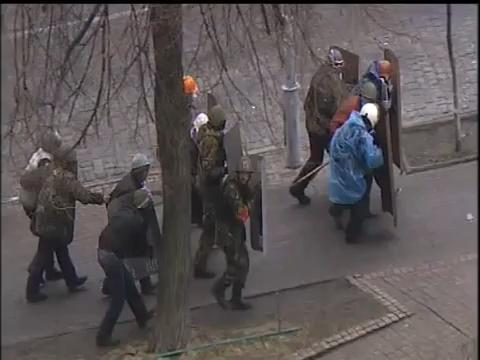 우크라이나의 시위 현재 상황