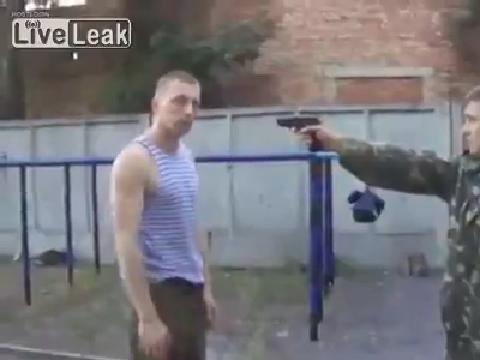 러시아 군인의 적군 제압 속도