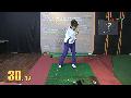 스윙시 척추각 유지 연습방법 part 1 / 1분레슨_김운호프로