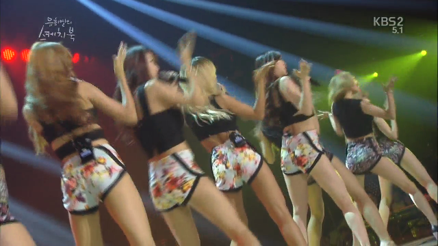 7/25 씨스타 - Touch my body