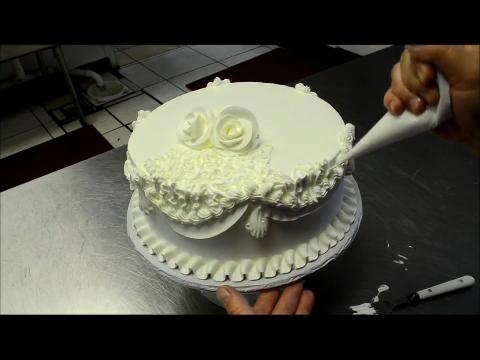 3분 안에 만든 웨딩케이크
