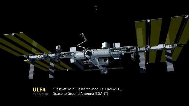 ISS 우주정거장의 성장 과정