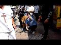 '사드 배치' 반대자들의 폭행 동영상