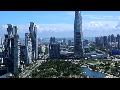 [동영상] 인천 송도 'G타워 33층 전망대의 송도' 전경 1 (20190831)