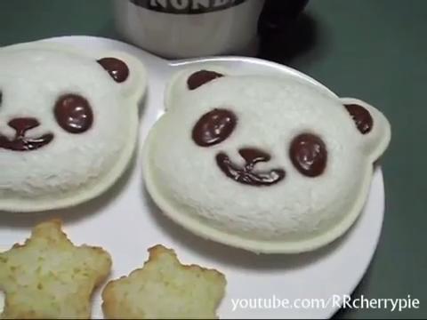 완전귀여워 팬더빵