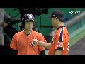 한화 vs SK, 강우콜드 무승부