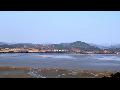 파주 오두산통일전망대에서 본 북녘땅 황해도 개풍군일대 전경