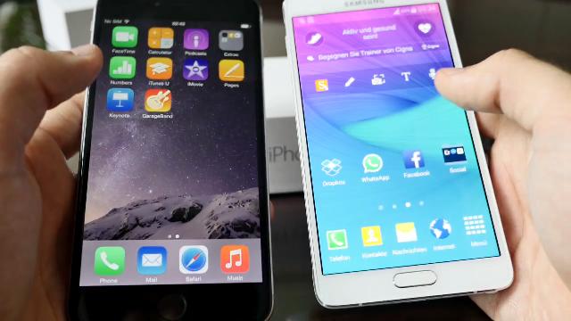 아이폰6 vs 노트4, 승자는?