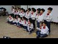 행원어린이집 원아들이 방문공연해주셨습니다.