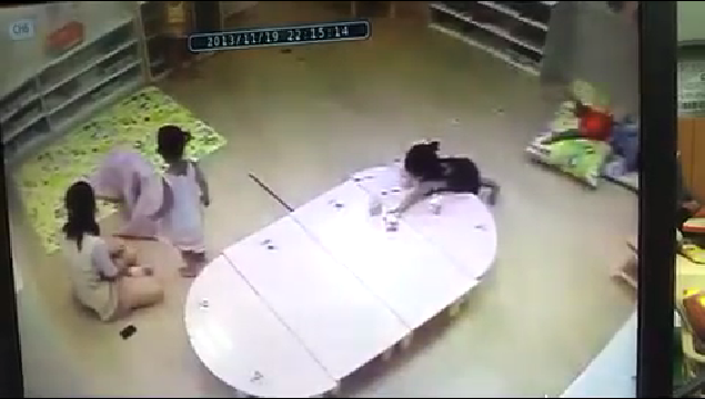 부산 어린이집 아동 학대 CCTV
