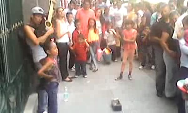 멕시코 길거리 환상적인 듀엣
