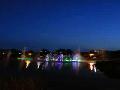 익산 중앙체육공원의 음악 분수 영상