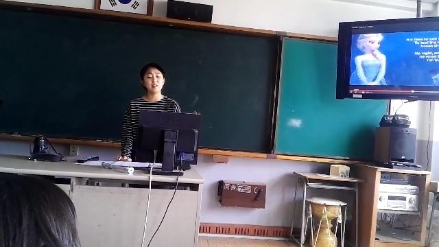 중학교 선생님 가창력 대박