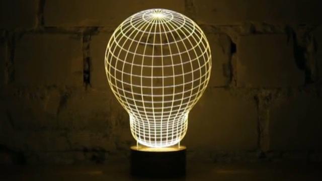 예쁜 LED 조명 마법 같은 반전