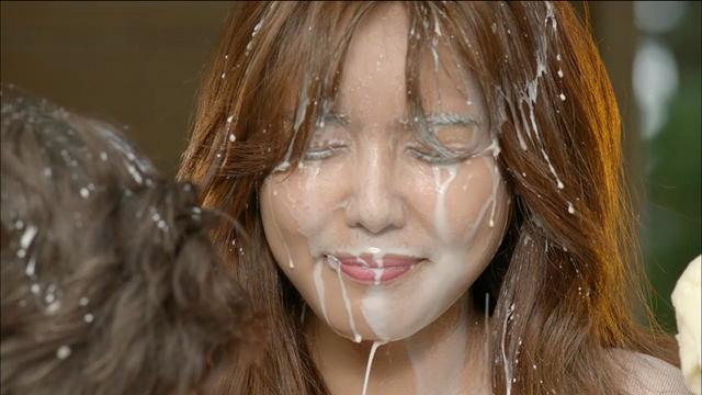 소녀시대 수영 굴욕의 우유폭탄
