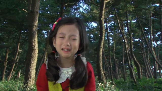 1회, 유괴범에게서 도망치는 하빈(이채미-유이) [황금무지개] 20131102
