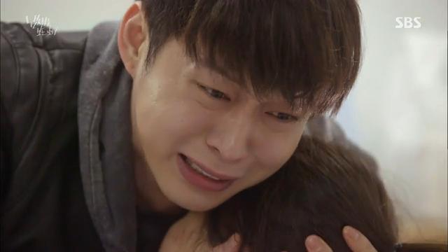 1회, 피 흘리는 김소현 안고 오열