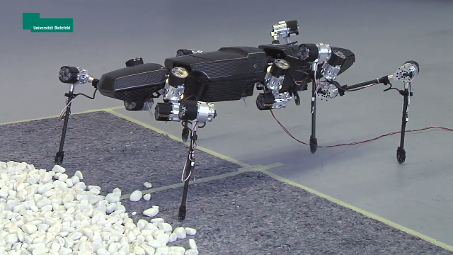 마치 곤충처럼 보이는 로봇
