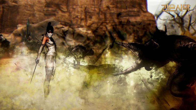 검은사막 쿠노이치 캐릭터 전투 영상