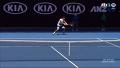 리틀 페더러를 당황케 하는 정현의 백핸드 / 1세트 5게임 [2017 호주 오픈] [2017 호주 오픈 테니스] 20170119
