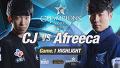 [H/L 2016.02.13] CJ vs Afreeca Game 1 - RO1 l 롯데 꼬깔콘 LoL Champions Korea Spring 2016 [롯데 꼬깔콘 LoL 챔피언스 코리아 스프링 2016] 17회 20150213