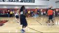 NBA 선수들의 연습 클라스