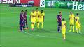 전반 28분 바르셀로나 피케 헤딩 선제골(메시 도움)