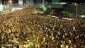 아수라장이 된 홍콩 시위 현장