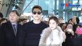 [S영상] 비-김태희, '한류 커플의 신혼 여행 출국길'