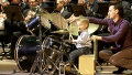 오케스트라에 나타난 3살 드러머