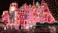 12월 준비하는 디즈니랜드 모습