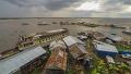 아마존에 폭풍 불어올 때 모습