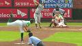 박용택 추가점 만드는 투런 홈런