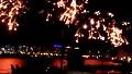 여의도 한강 불꽃 놀이 장면