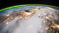 우주정거장에서 바라본 지구