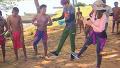 흥 폭발! 원주민과의 합동 댄스